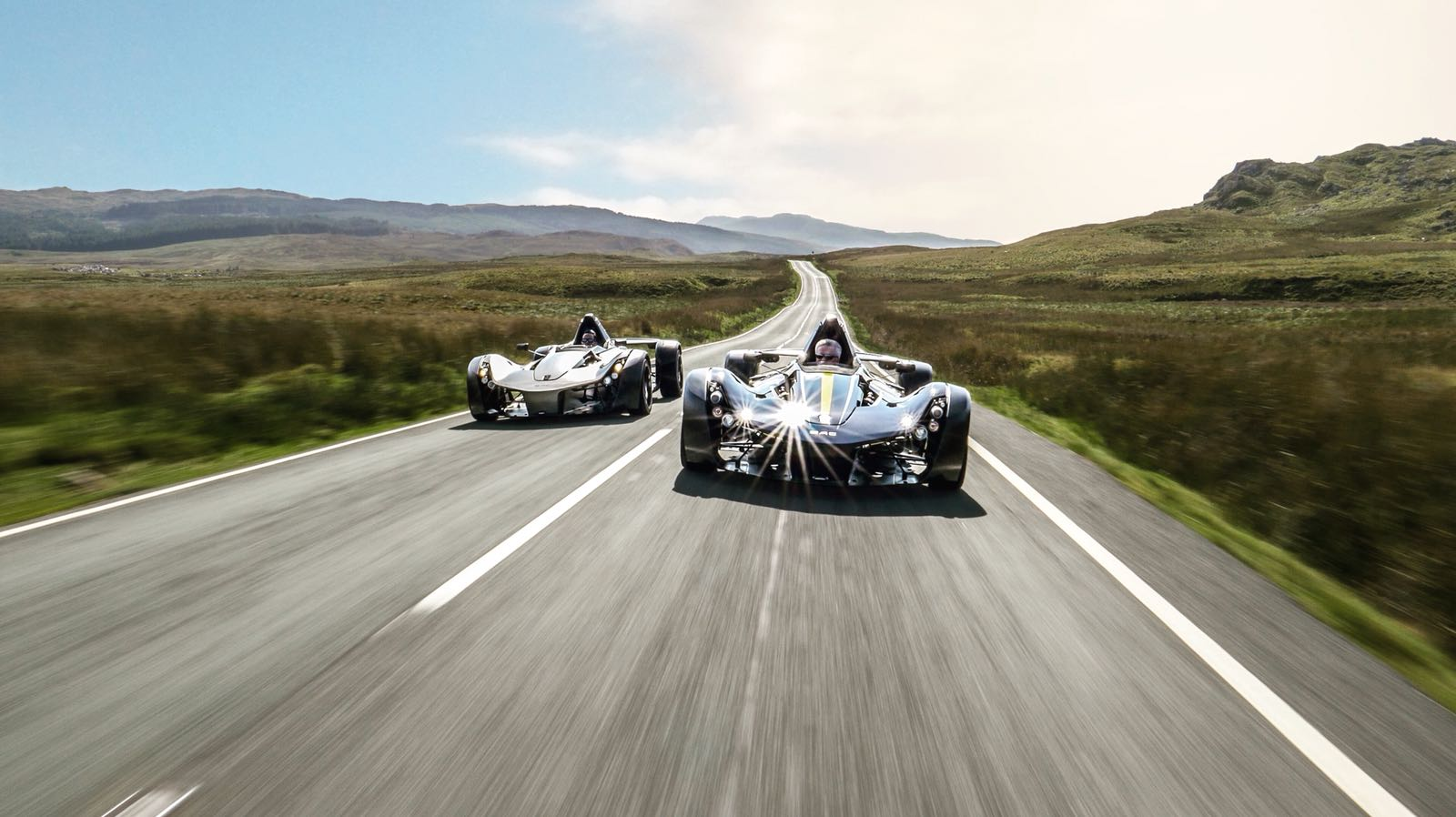 BAC Mono x 2. Road and Track Test