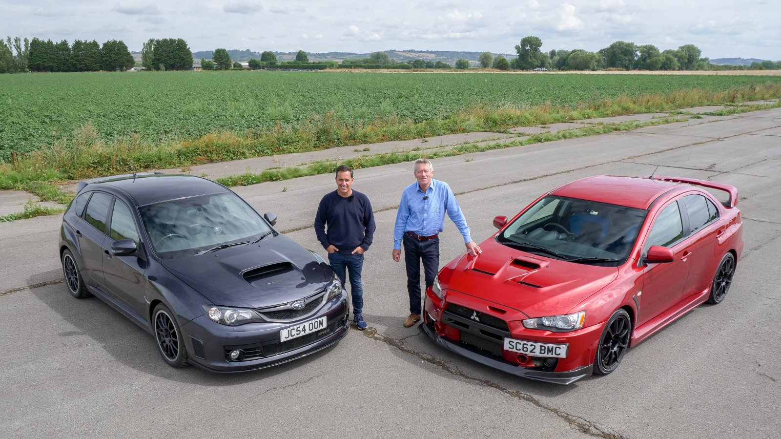 Ultimate AWD Face Off with the Subaru Impreza WRX STI Cosworth CS400 and Mitsubishi Lancer EVO X FQ400