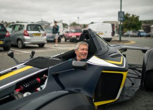 Tiff Needell filimg with Lovecars