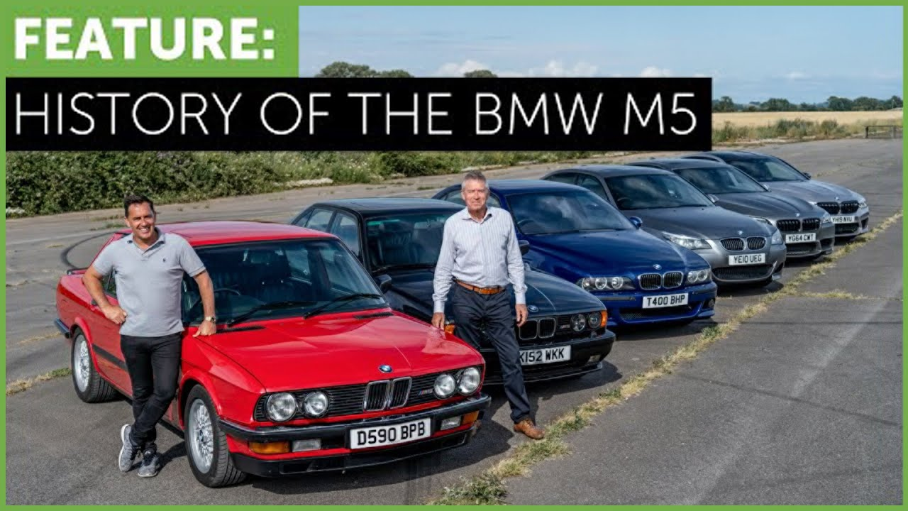 BMW M5 Complete History – E28 to F90